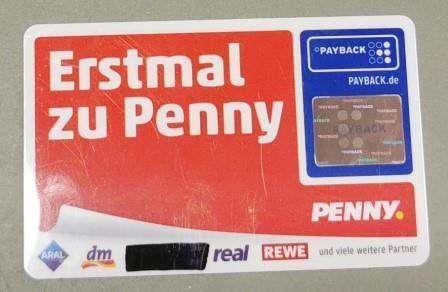 04/2021: Payback Kundenkarte im OT Bischofferode/Briefkasten der Gemeindeverwaltung gefunden