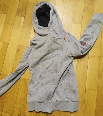 02/2021: graue Strickjacke im OT Großbodungen/auf dem Spielplatz gefunden